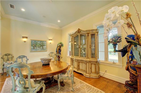 Luxury properties beautiful French Provincial home