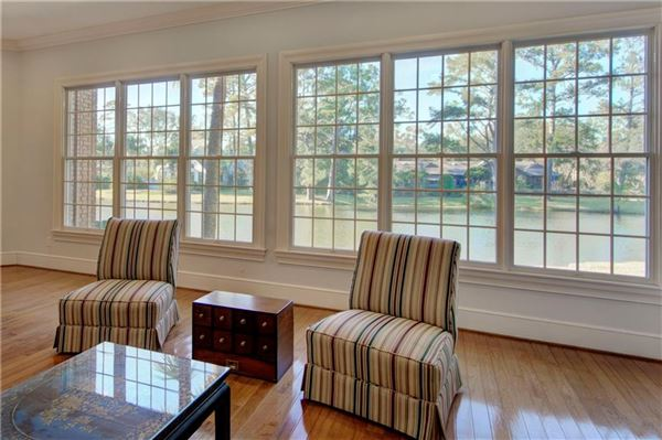 Luxury real estate 106 Augusta - on the lagoon with golf course views