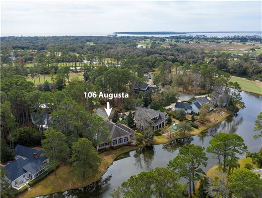 106 Augusta - on the lagoon with golf course views mansions