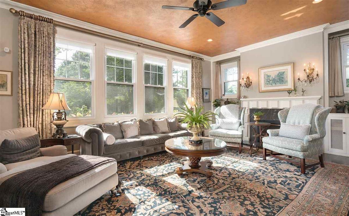 Luxury homes restored and renovated tudor revival gem