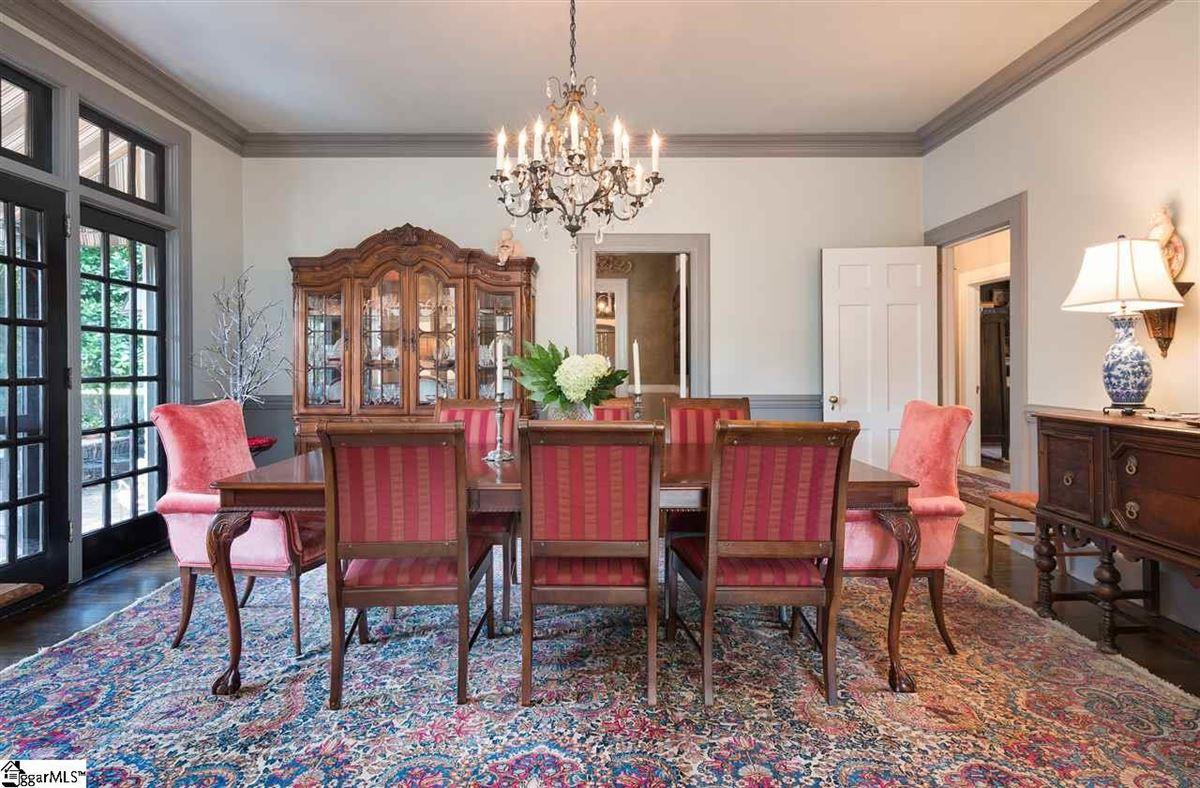 Luxury real estate restored and renovated tudor revival gem