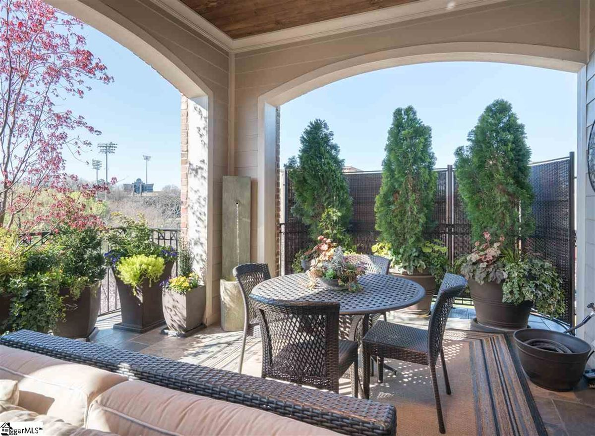 rare two-level corner condo in downtown Greenville luxury properties