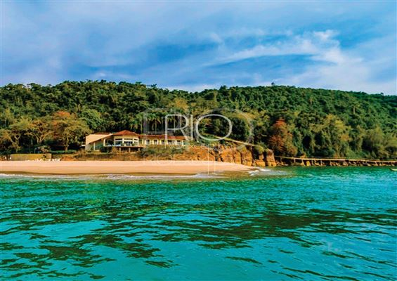 Luxury real estate  PRIVATE ISLAND UBATUBA BAY
