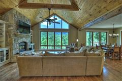 Mansions  GRAND HOME BOAsts Mountaintown Creek frontage with long-range mountain views