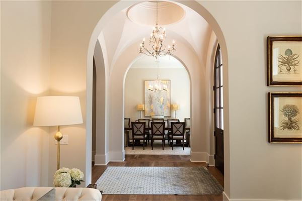 Luxury real estate French Provincial style home