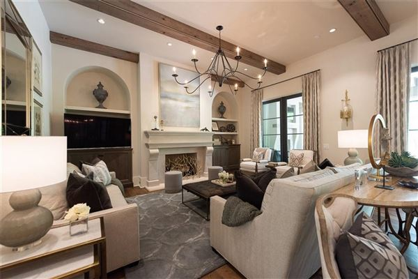 Luxury properties French Provincial style home