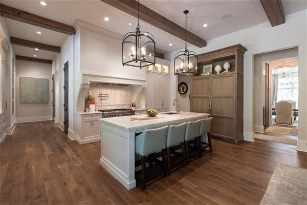 Mansions French Provincial style home
