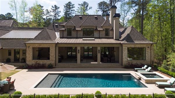 French Provincial style home luxury real estate