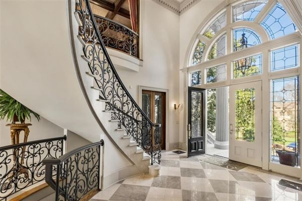 grand estate on two gated acres luxury homes