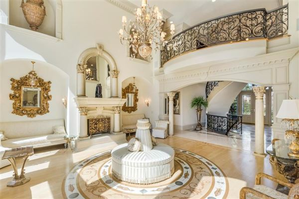 grand estate on two gated acres mansions