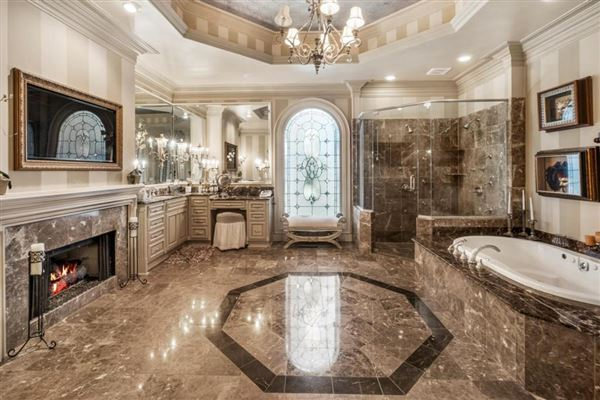 Luxury real estate grand estate on two gated acres