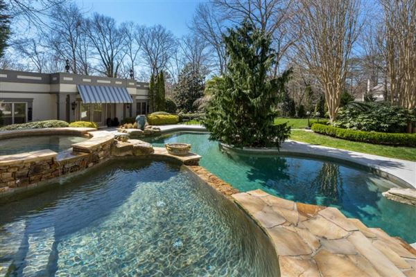Luxury homes grand estate on two gated acres