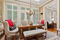 Mansions in renovated luxury townhome