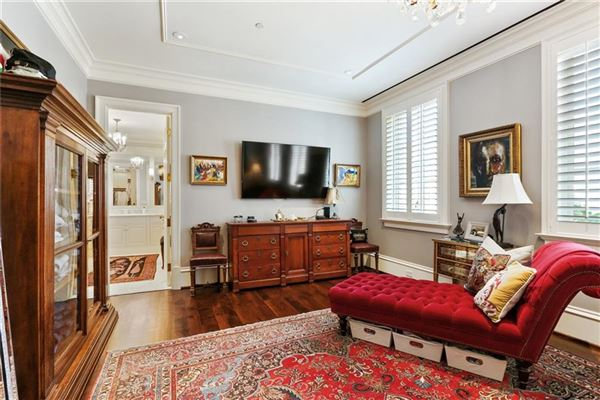 Luxury homes in renovated luxury townhome