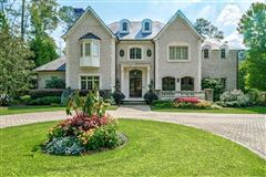 grand home on manicured grounds mansions