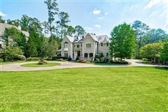 Luxury homes in grand home on manicured grounds