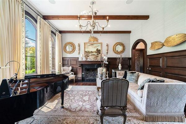 Luxury real estate Grand custom home in sought-after River Club