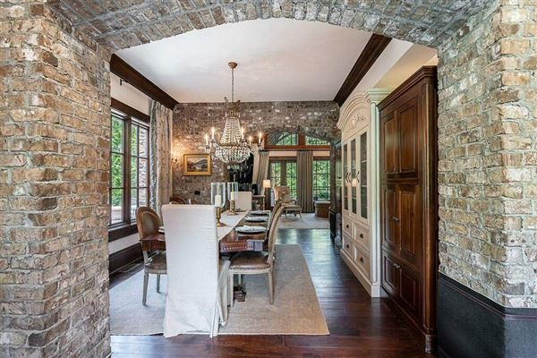 Grand custom home in sought-after River Club luxury real estate