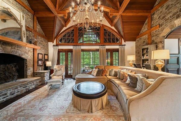 Mansions Grand custom home in sought-after River Club