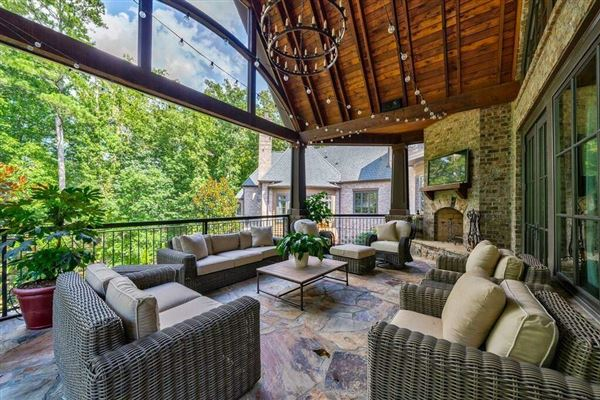 Luxury homes in Grand custom home in sought-after River Club