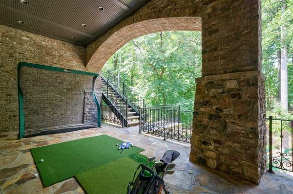 Mansions in Grand custom home in sought-after River Club