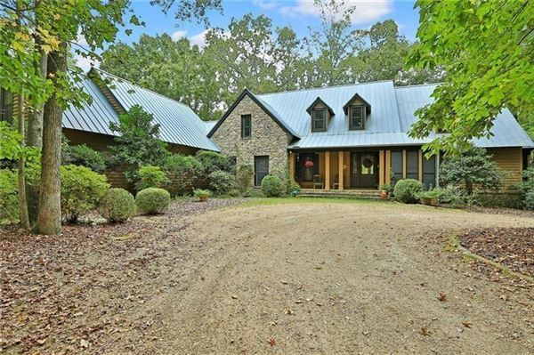 Luxury real estate beautifully wooded property