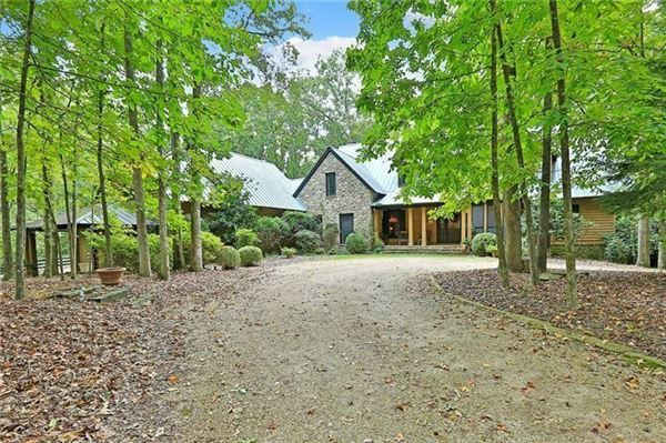 beautifully wooded property luxury real estate