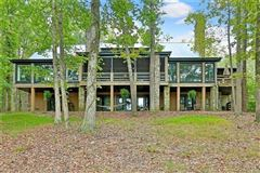Luxury homes beautifully wooded property