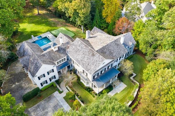 Luxury real estate grand traditional home on two acres