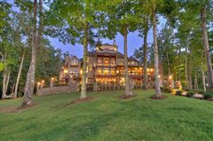 Luxury real estate One of the most stunning homes on Lake Blue Ridge
