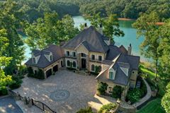 One of the most stunning homes on Lake Blue Ridge luxury homes