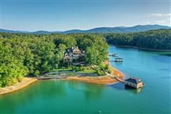 Mansions One of the most stunning homes on Lake Blue Ridge
