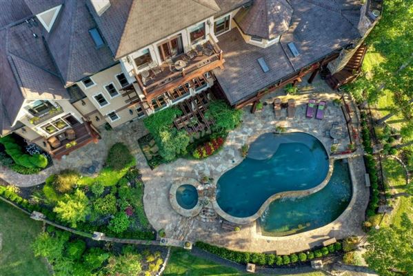 Luxury homes in One of the most stunning homes on Lake Blue Ridge