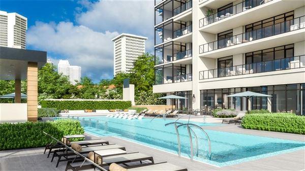 Luxury properties The Hightower in the graydon