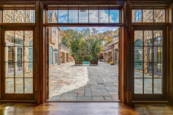 Mansions in grand Sandy Springs gated estate