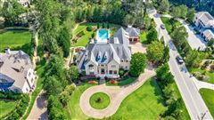 Built in 2007, this grand home on 1.14+/- acres  mansions