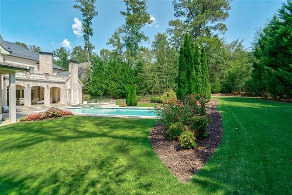 Built in 2007, this grand home on 1.14+/- acres  luxury real estate