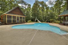 Luxury real estate grand MountainEstatewith private acres and creek frontage