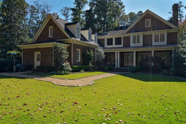 Luxury homes in Beautifully manicured 1+/- acre estate