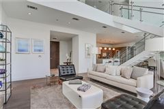 Luxury homes in Sought-after two-story penthouse on top of the W Residences