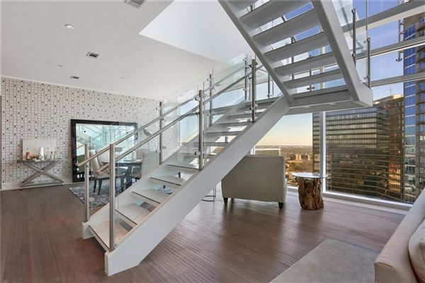 Luxury homes Sought-after two-story penthouse on top of the W Residences