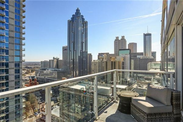 Sought-after two-story penthouse on top of the W Residences  luxury properties