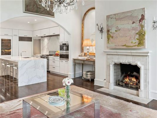Mansions in stunning four level townhome