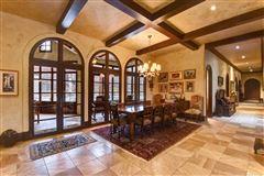 custom stunner on nearly 10 acres luxury homes
