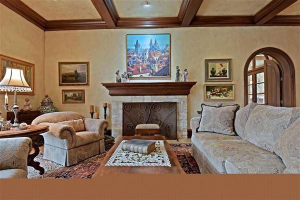 Luxury homes in custom stunner on nearly 10 acres