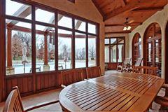 custom stunner on nearly 10 acres luxury real estate