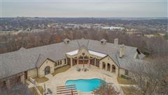 Mansions in custom stunner on nearly 10 acres