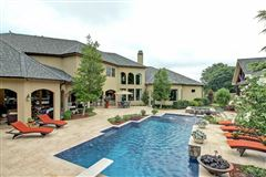 Mansions in Spectacular estate in gated Belmont
