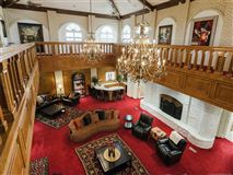 Mansions in exquisite home on 28 acres