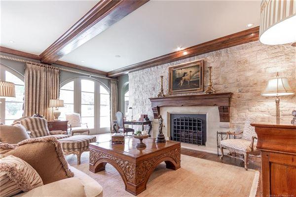 Mansions in resort-like Builders personal custom home